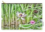 Lotus Flower On The Water Carry-all Pouch