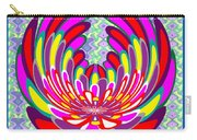 Lotus Flower Stunning Colors Abstract  Artistic Presentation By Navinjoshi Carry-all Pouch
