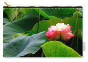 Lotus Forms Carry-all Pouch