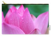 Lotus In Pink Carry-all Pouch