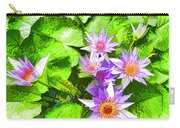 Lotus In Pond Carry-all Pouch