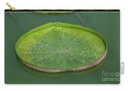 Lotus Leaf In The Marsh Carry-all Pouch