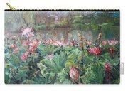 Lotus Pond-3 Carry-all Pouch