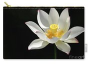 Lotus Reaching For The Sun Carry-all Pouch