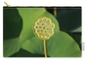 Lotus Seed Pod 1 Carry-all Pouch