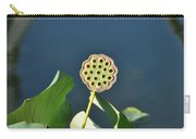 Lotus Seed Pod 2 Carry-all Pouch