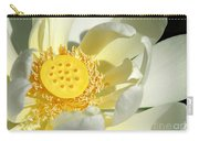 Lotus Up Close Carry-all Pouch