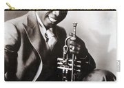 Louis Armstrong, American Jazz Musician Carry-all Pouch