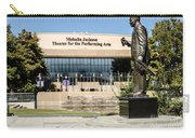 Louis Armstrong Bronze - Mahalla Jackson Theater - New Orleans Carry-all Pouch