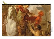 Louis Galloche - A Scene From The Life Of St. Martin Carry-all Pouch