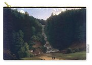 Louis Gauffier  View Of Falls At Vallombrosa Carry-all Pouch