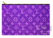 Louis Vuitton In Purple Monogram Carry-all Pouch