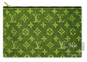 Louis Vuitton In Yellow Grey Monogram Carry-all Pouch