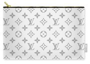 Louis Vuitton Pattern - Lv Pattern 14 - Fashion And Lifestyle Carry-all Pouch