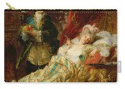 Louis Xv And Madame Dubarry Carry-all Pouch