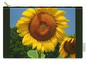 Louisa, Va. Sunflower 6 Carry-all Pouch