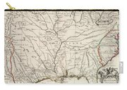 Map Of Louisiana And Of The River Mississippi Carry-all Pouch