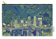 Louisville Kentucky Skyline Abstract 6 Carry-all Pouch