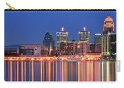 Louisville Panoramic At Blue Hour Carry-all Pouch