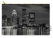 Louisville Skyline At Night 2 Carry-all Pouch
