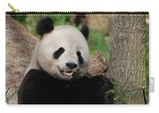 Lounging Giant Panda Bear With A Shoot Of Bamboo Carry-all Pouch