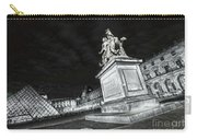 Louvre Museum 7 Art Bw Carry-all Pouch