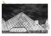 Louvre Museum Bw Carry-all Pouch