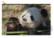 Lovable Giant Panda Bear With Big Paws Carry-all Pouch