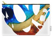 Love 6 - Heart Hearts Valentine's Day Carry-all Pouch