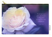 Love And Compassion Carry-all Pouch