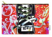 Love And Converse Carry-all Pouch