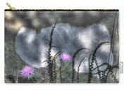 Love And Death Carry-all Pouch by Wayne King