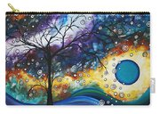 Love And Laughter By Madart Carry-all Pouch by Megan Duncanson