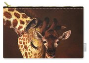 Love And Pride Giraffes Carry-all Pouch