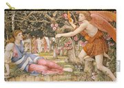 Love And The Maiden Carry-all Pouch by JRS Stanhope