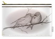 Love Birds Carry-all Pouch by Ginny Youngblood