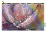 Love Bubbles Carry-all Pouch by Carol Cavalaris