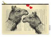 Love Camels Carry-all Pouch
