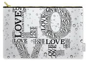 Love Droplets Carry-all Pouch