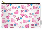 Love Hugs And Kisses Carry-all Pouch