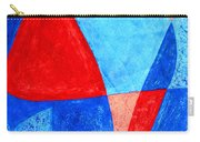 Love In Abstract Word Art Carry-all Pouch