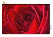 Love Is A Red Rose Carry-all Pouch