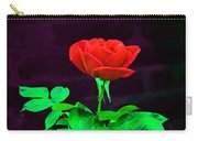 Love Is A Rose Carry-all Pouch