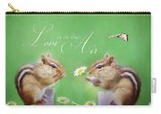 Love Is In The Air Carry-all Pouch by Lori Deiter