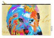 Love Is In The Dog's Eyes  Carry-all Pouch