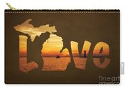 Love Lake Michigan Carry-all Pouch