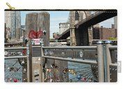 Love Locks In Brooklyn New York Carry-all Pouch