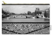 Love Locks Over The Seine Carry-all Pouch
