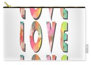 Love Love Love Phone Case Carry-all Pouch