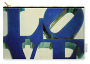 Love Makes Me Blue Carry-all Pouch